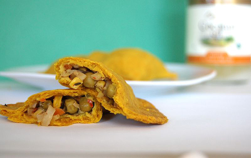 Jamaican Veggie Patties. Not the Daring Bakers Cheesecake, but Close ...