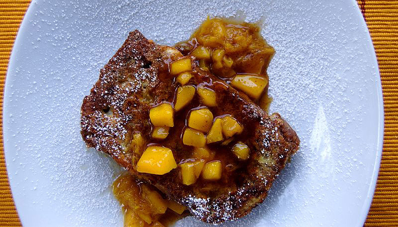 Mango Bread French Toast2