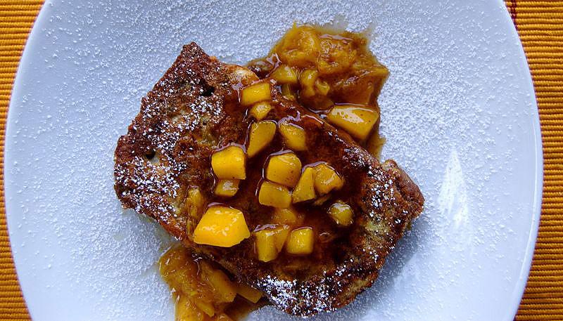 Mango Bread French Toast2